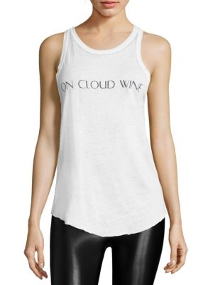 On Cloud Wine Tank Top by Feel The Piece
