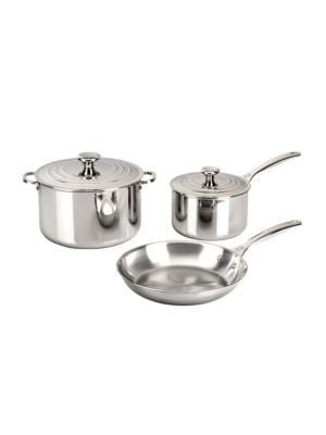 Five-Piece Stainless Steel Set