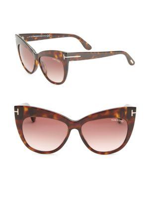 Nika 56MM Cat Eye Sunglasses
