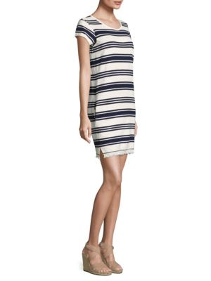 Nanae Striped Tee Dress