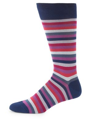 Lisle Rainbow Pima Cotton Socks