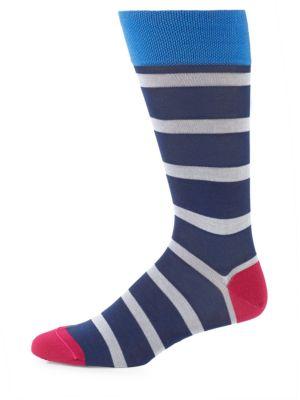 Lisle Skipper Pima Cotton Socks