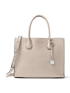 MICHAEL MICHAEL KORS - Mercer Leather Tote Bag