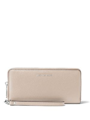 Mercer Travel Leather Continental Wallet