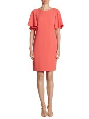 Mayberry Ruffled Sleeve Dress