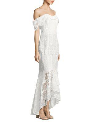 Lace Vanowen High-Low Dress