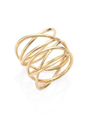 Bond 14K Yellow Gold Link Ring