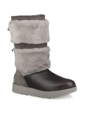 Reykir Waterpoof Leather & Sheepskin Boots