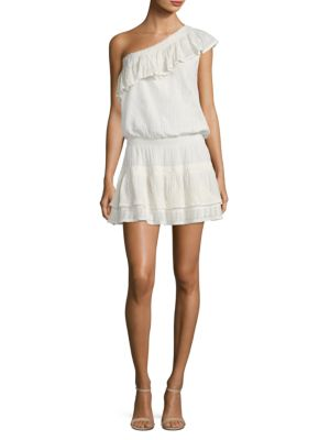 Kolda Ruffled One Shoulder Dress
