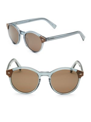 51MM Round Ophthalmic Sunglasses