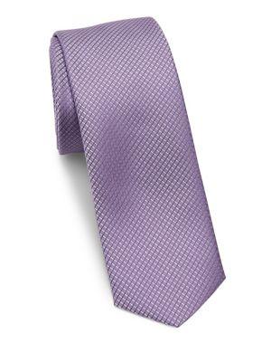 Diamond Embroidered Tie