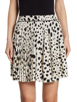 marc jacobs female spotted silk skirt