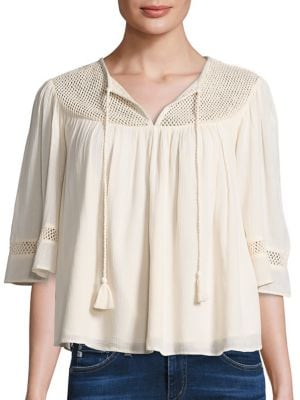 Huxley Embroidered Top by Tularosa