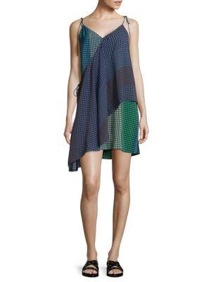 Silk Foulard Wrap Dress