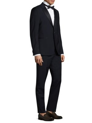 Slim-Fit Linen Suit