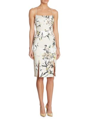 Robinson Floral-Print Sheath Dress