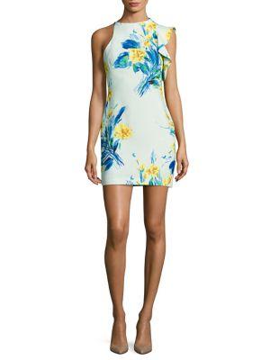 Pabla Ruffled Mini Dress