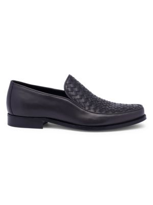 Interwoven Leather Loafers