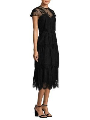 Elasa Embroidered Lace Dress