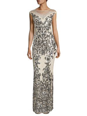 Tonia Sequined Gown