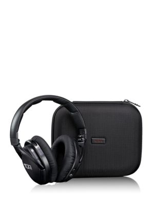 Wireless Noise Cancelling Headphones & Case