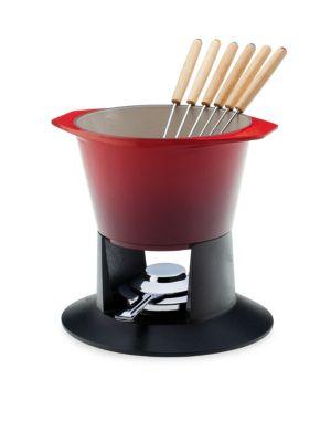 Heritage Cast Iron Fondue Pot