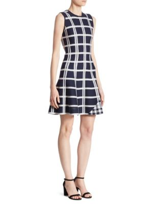 Tartan Checked Mini Dress