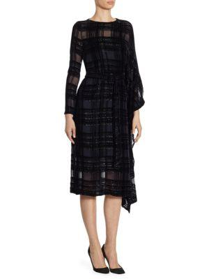 Velvet Square Dress