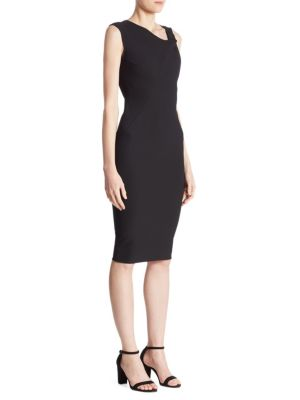 Buy Victoria Beckham Knotted V-Neck Dress online with Australia wide shipping