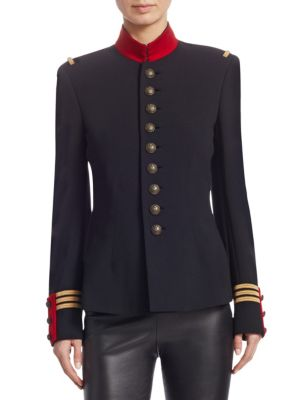 Iconic Style The Officer's Double-Faced Wool Jacket