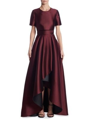 Double-Faced Asymmetrical Gown