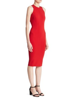 Buy Victoria Beckham Cutout Back Dress online with Australia wide shipping
