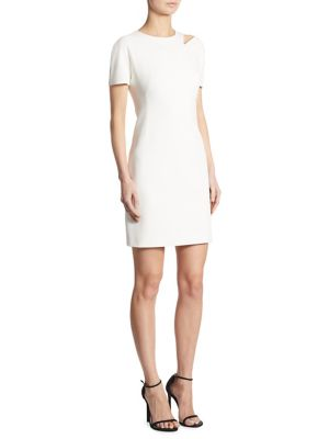 Shoulder Cutout Dress