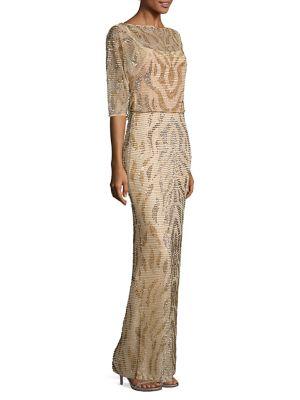 Bonita Embellished Gown