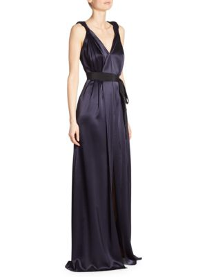 Liquid Satin Gown