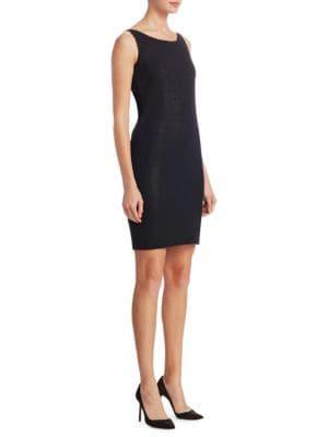 Wool Shimmer Dress