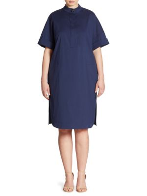 Jaxine Shirtdress by Lafayette 148 New York, Plus Size