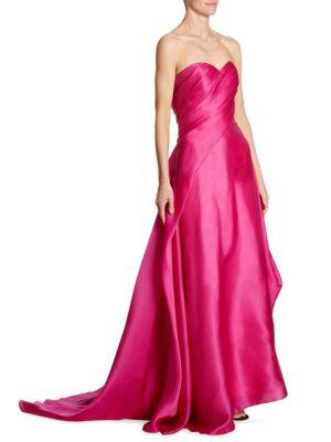 Sweetheart Silk Gown