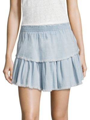 Kimberly Double Layer Cotton Skirt