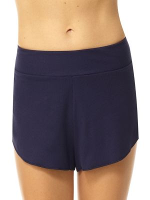 Rib-Knit Stretch-Cotton Boxer Shorts by Commando