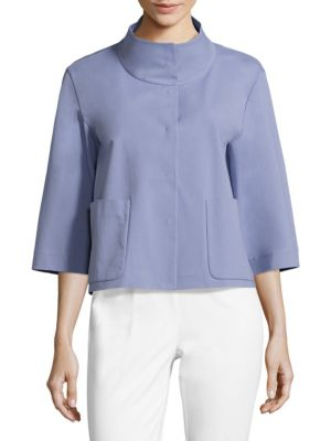 Darian Funnelneck Jacket by Lafayette 148 New York