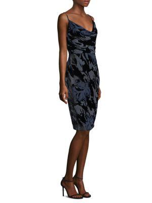 Skinny Strap Velvet Dress