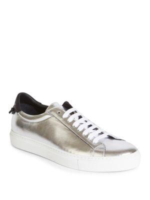 Metallic Urban Low-Top Sneakers