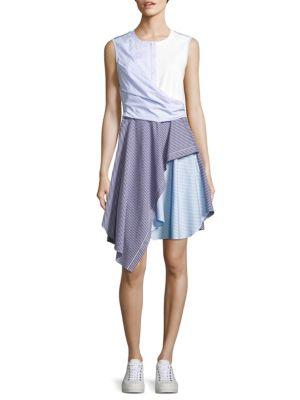 Cody Striped Fit-&-Flare Dress