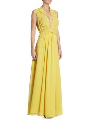 Amelia Silk Gown