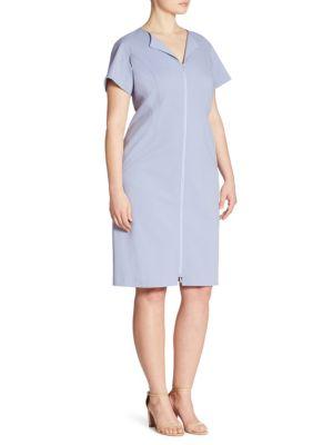 Deja Zip-Front Dress