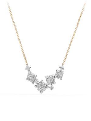 Châtelaine Diamond 18k Gold Necklace