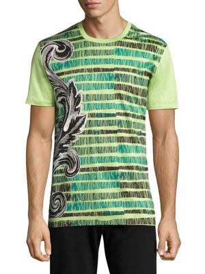 Sketched Baroq Cotton T-Shirt