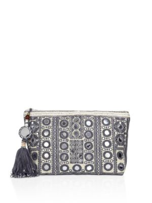 Pinki Embroidered Clutch