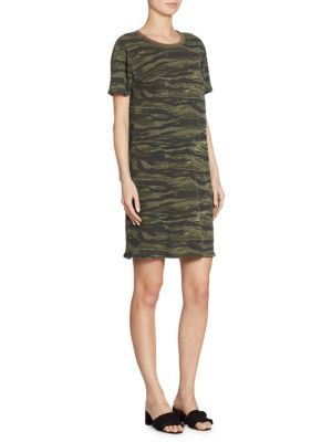 Beatnik Camo T-Shirt Dress